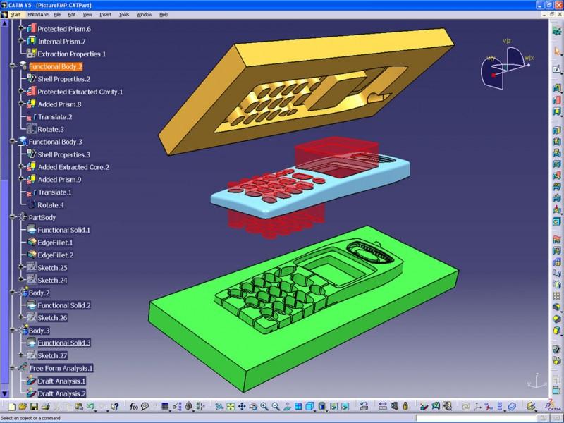 CATIA-V5-Molded-Product-Creation-MPE