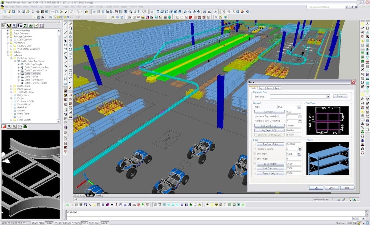 Tecnomatix Factory CAD